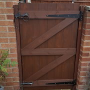 6ft x 4ft Two Hinge Gate Rear View