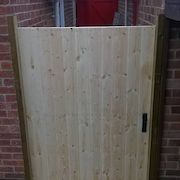 Cladding Gate Front, Untreated