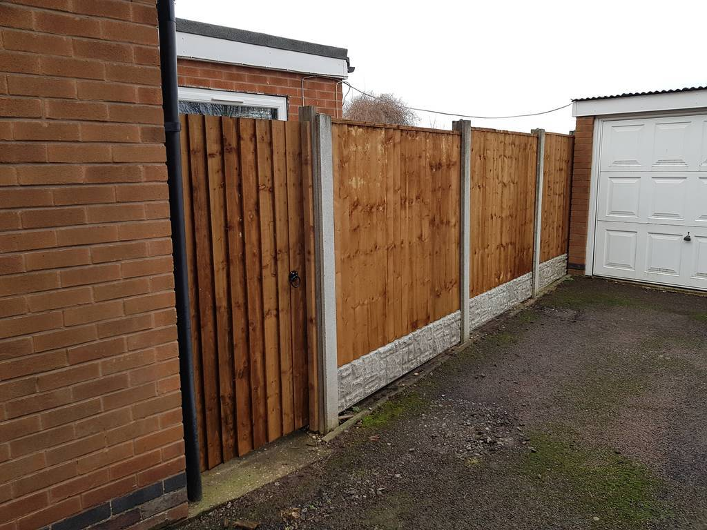 Quot Heavy Duty Featheredge Panels Fencing And Gardening